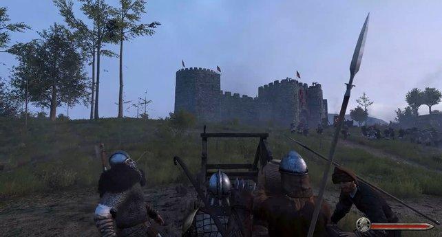 Erobert eine Burg, um Herrscher zu werden oder eure Machtgrenze zu erweitern.