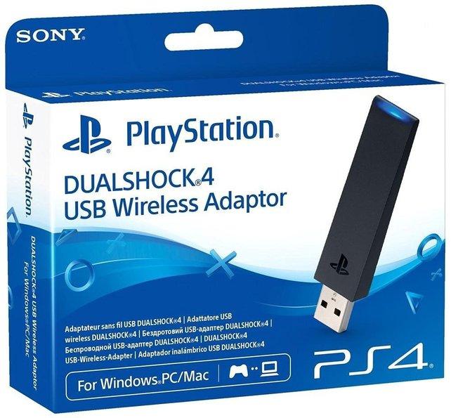 USB Wireless Adapter von Sony: Die beste Alternative, wenn ihr den PS4-Controller am PC nutzen wollt.