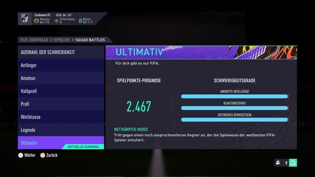 Ihr sucht die ultimative Herausforderung in FIFA 21? Dann schaltet den Wettkämpfer-Modus ein.