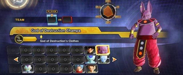 Champa ist einer der neuen Charaktere, die ihr mit dem DLC Super Pack 2 erhaltet.