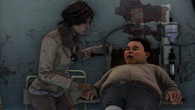 Kate wird von Murk, dem Anführer der Nomaden,um Hilfe gebeten.