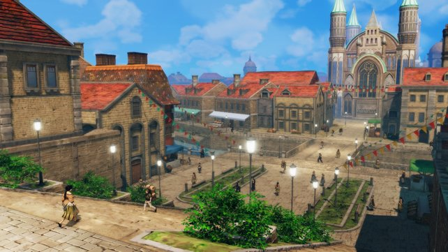 Die Stadt Magnolia ist ziemlich prächtig und detailliert geraten.