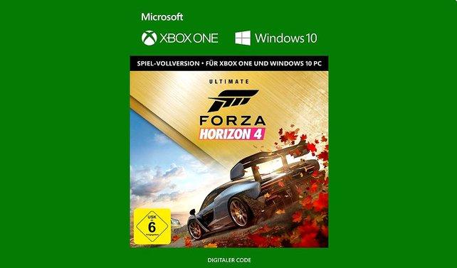Die digitale Version der Ultimate Edition von Forza Horizon 4 könnt ihr auch auf dem PC spielen.