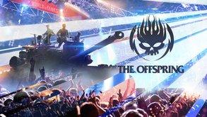 Rockband The Offspring gibt Konzert im Spiel