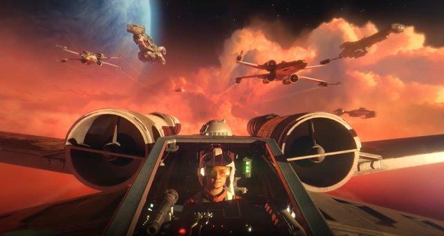 Mit Star Wars: Squadrons geht EA neue Wege.