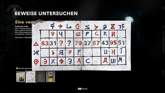 Notiert euch erst die fehlende rote Zahl und anschließend die blaue.
