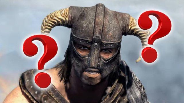 Skyrim-Spieler ist zu klug für das Spiel. Bildquelle: Getty Images/ Anja W.