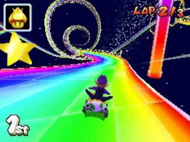 Im Gegensatz zum N64-Teil sind auf dem DS auch die Figuren vollwertige 3D-Objekte.