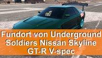 Underground Soldiers Nissan Skyline GT-R V-spec - Fundort des stillgelegten Autos