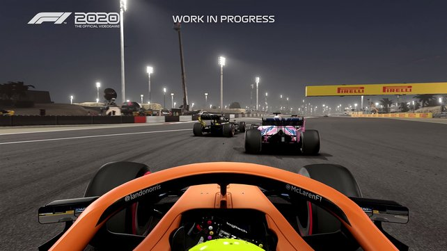 Mit einem eigenen Team dürft ihr den bekannten Rivalen wie Mercedes und Ferrari einheizen.