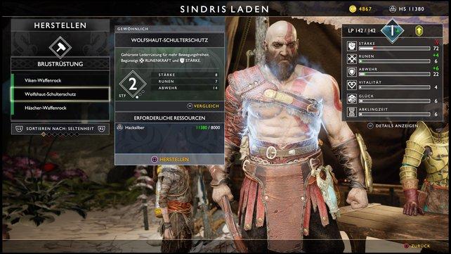 Bereits God of War bot erste Rollenspielelemente, im Nachfolger könnte man diese noch ausbauen.