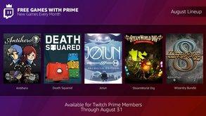 Mehr kostenlose Spiele für Prime-Kunden im August