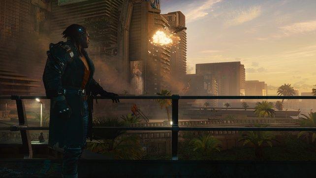 Fantastische Ausichten in Cyberpunk 2077.