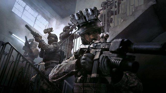 Waffen gibt es zwar nicht, dafür aber eine Armbanduhr für Call of Duty: Modern Warfare.