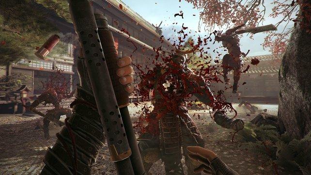 Feingefühl spielt keine Rolle: In Shadow Warrior 2 geht es recht grob zur Sache.