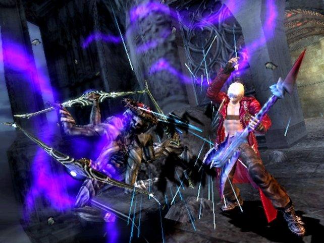 Dämonenjäger und Gitarrengott: Dante weiß, wie man sich richtig in Szene setzt.