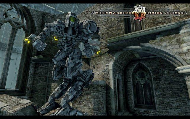 Mechwarrior - Living Legends ist kein reines Action-Spiel. Hier kämpfen bis zu 32 Piloten in einer Art Robotersimulation gegeneinander.