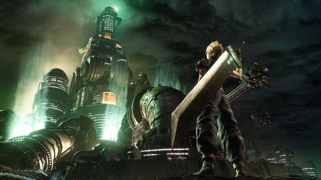 Im Herzen Midgars überragt das gewaltige Shinra-Gebäude alles andere und erinnert dabei ein wenig an Barad-dûr.