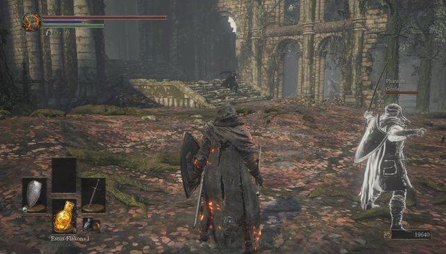 Stolz wie Oskar: Hütet euch vor der Wirbelattacke des Großschwert-Trägers.