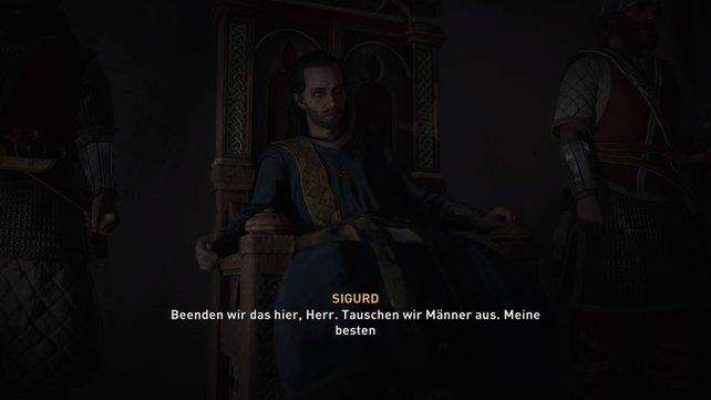 """König Aelfred von Westseaxe. Chronisten und englische Nationalisten nennen ihn ehrführtig: """"Aelfred der Große!"""""""