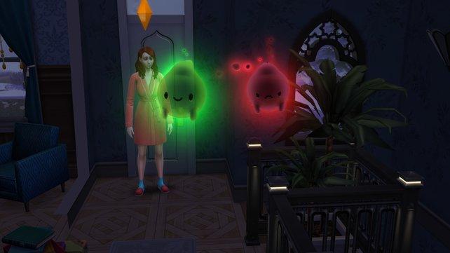 Buhu! Die kleinen Gespenster können euren Körper mit Liebe und Wärme füllen - sofern ihr ihnen das richtige Geschenk anbietet.