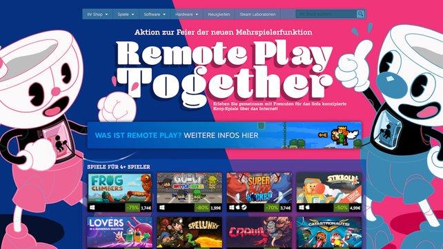 Zur Feier der neuen Funktion beschert Steam starke Rabatte auf kompatible Spiele.
