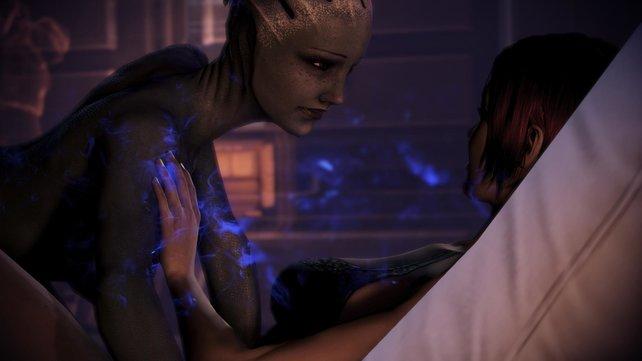 In Mass Effect 3 konntet ihr auch homosexuelle Beziehungen eingehen