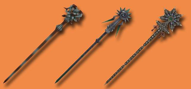 Drei Ruten aus FF 12 - The Zodiac Age. (Quelle: finalfantasy.wikia.com)