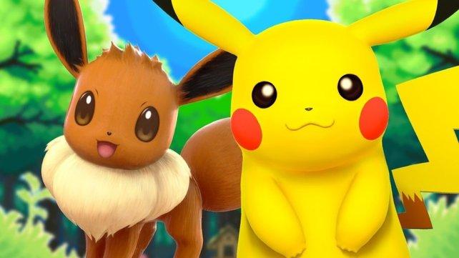 Unter anderem wurden Pikachu und Evoli umgesetzt. Zum Vergleich seht ihr hier nochmal die Originale.