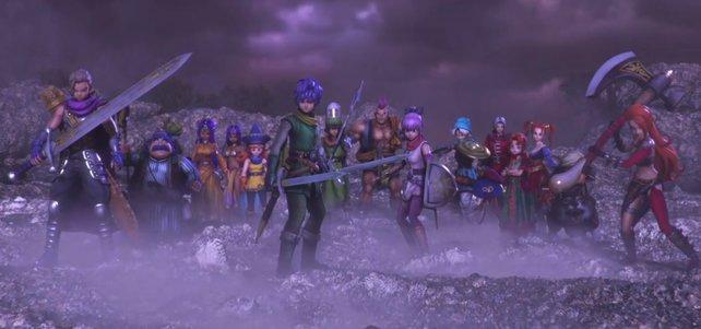 Starke Helden-Riege: Das sind alle spielbaren Charaktere in Dragon Quest Heroes 2.