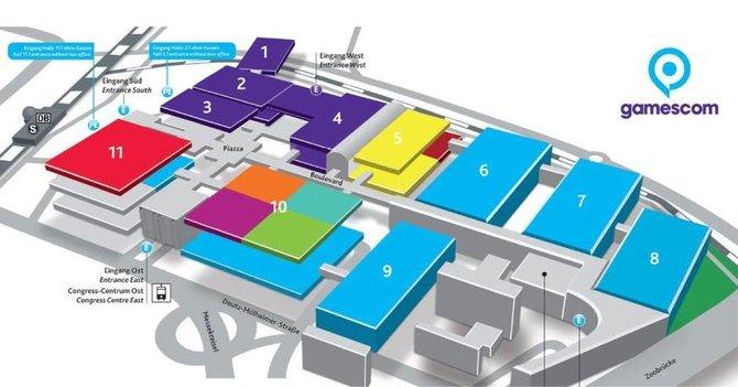 Die Entertainment Area der gamescom erstreckt sich von Halle 5 bis 10. (Bildquelle: gamescom.de)