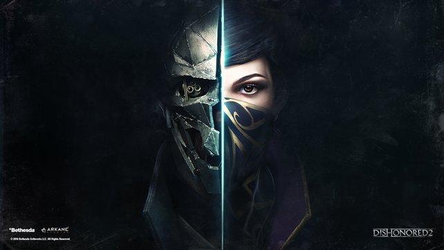 Corvo und Emily - Das Tocher-Vater-Gespann bildet die Protagonisten von Dishonored 2.