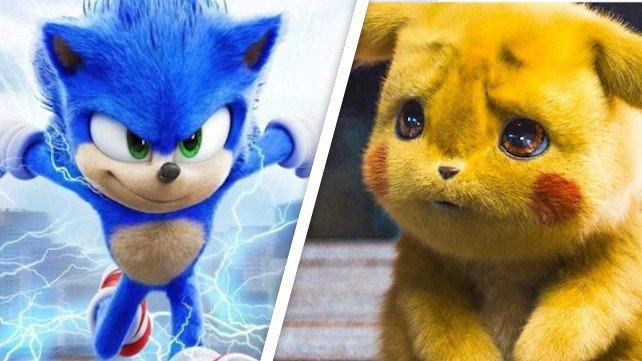 Sonic The Hedgehog bricht Meisterdetektiv Pikachus Rekord in Sekundenschnelle.