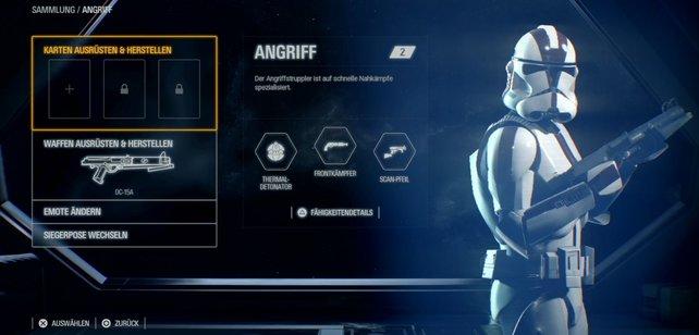 Schnell, mobil und anpassungsfähig: Die Angreifer-Klasse in Star Wars Battlefront 2.