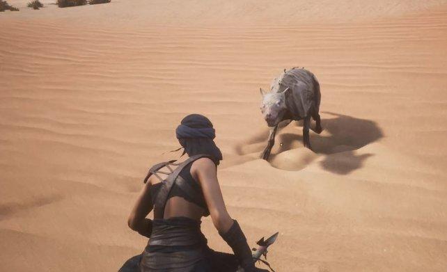 In Conan Exiles gibt es genug Kreaturen, die euch Dämonenblut geben. Nur freiwillig tun sie das nicht.