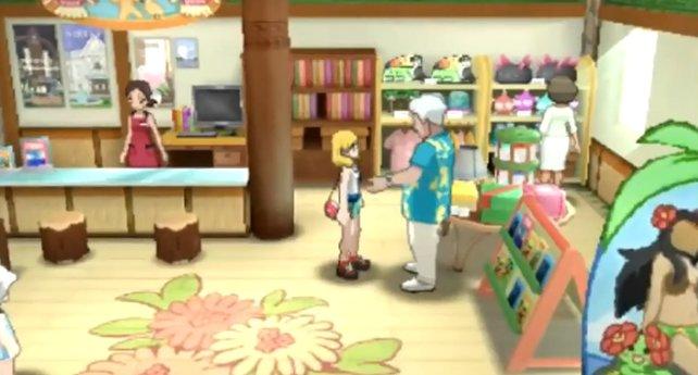 Der Namenbewerter in Pokémon Sonne und Mond.