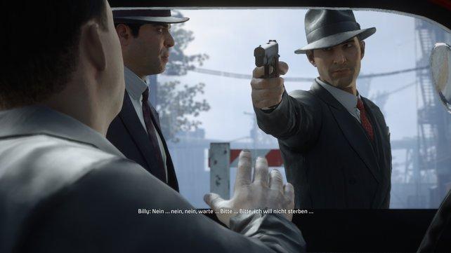 Die Spieldauer von Mafia ist kompakt, dafür habt ihr kaum Zeit zum Durchatmen.