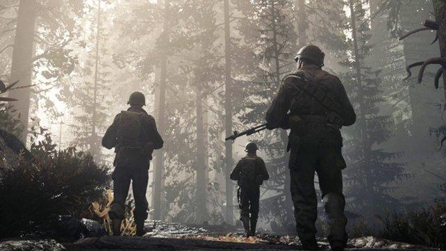 Alles nur Schleicher: Die Soldaten in WW2 geben kein Geräusch von sich.
