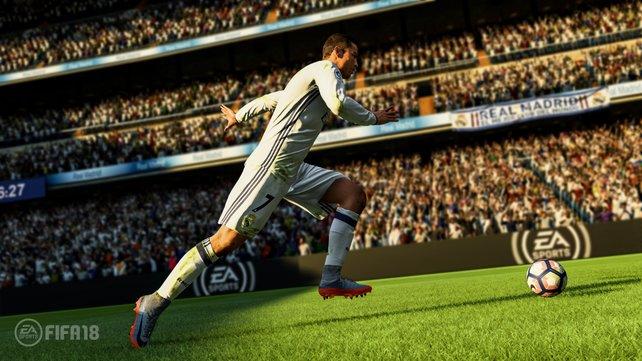 Die Frostbite Engine zeigt auch in Fifa 18, was sie kann.