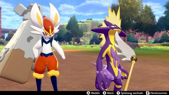 Es gibt zwei Spielzeuge, mit denen ihr eure Pokémon unterhalten und so die Freundschaft erhöhen könnt.