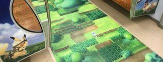 Panorama: So sieht ein Pokémon-Zug von innen aus