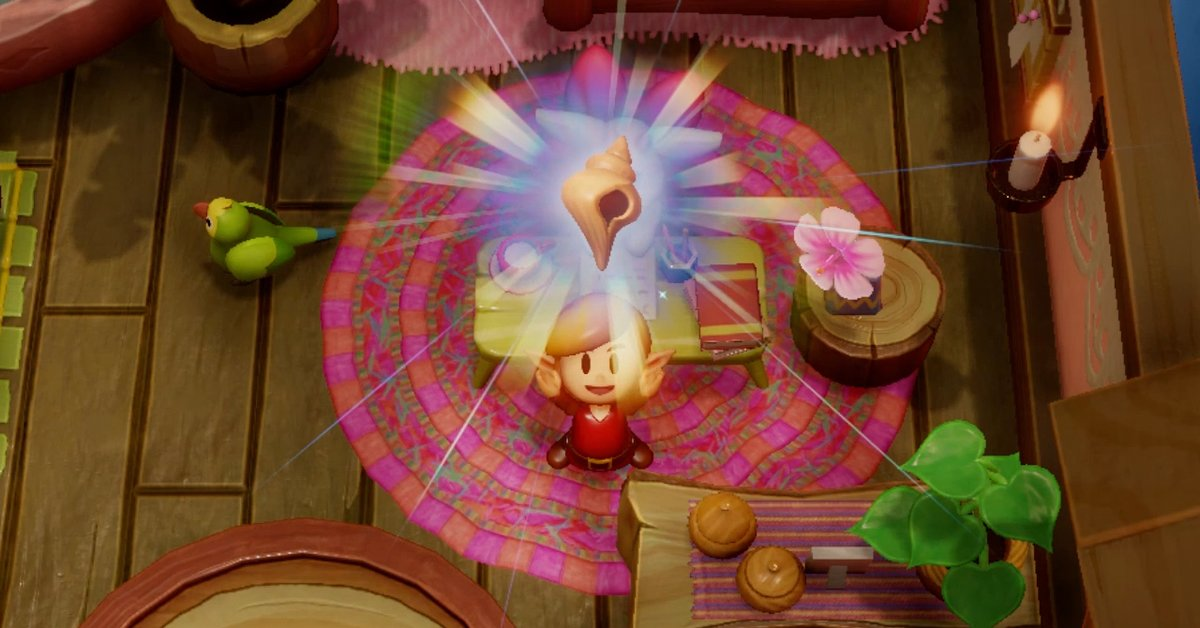 Zelda Awakening Link All Mysterious Shells With Localities