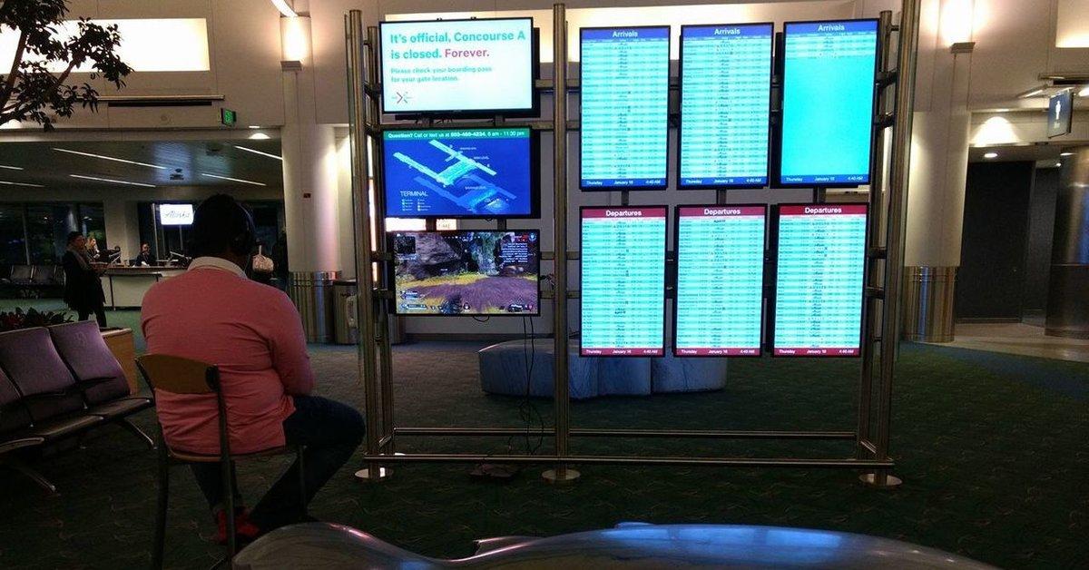 PlayStation 4 | Spieler verwandelt Flughafen in Zocker-Paradies