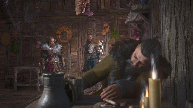 König Styrbjörn ist inzwischen zu einem traurigen alten Säufer verkommen, der die Tragik seiner Entscheidung nicht erträgt.