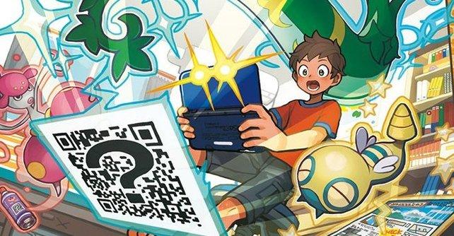 Mit dem QR-Scanner findet ihr alle Pokémon.