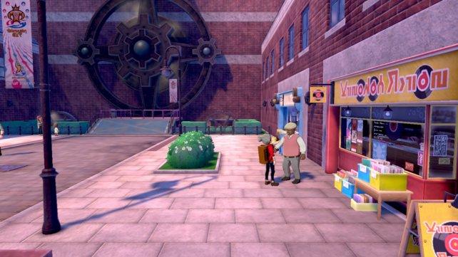 Redet mit diesem Mann in Engine City und ihr erhaltet die Top-Ohrstöpsel.
