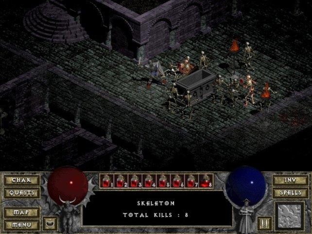 Diablo 1 hat die optische Identität der Reihe geprägt.