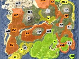 Ark Karte The Island.Ark Survival Evolved Equus Pferde Finden Und Einhorn Zähmen