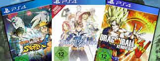 Deals: Schnäppchen des Tages: Tales of Zestiria, Dragon Ball und Naruto im Angebot