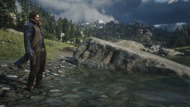 Das Angeln in Red Dead Redemption 2 ist komplexer als in den meisten Spielen.